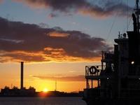 名古屋港の日の出.jpg